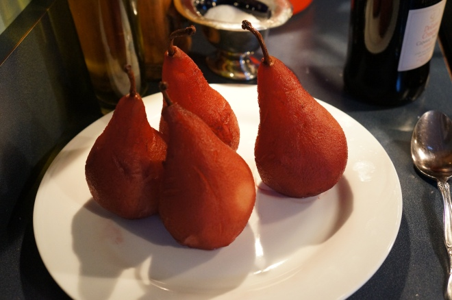 Princess Diana's Poached Pears