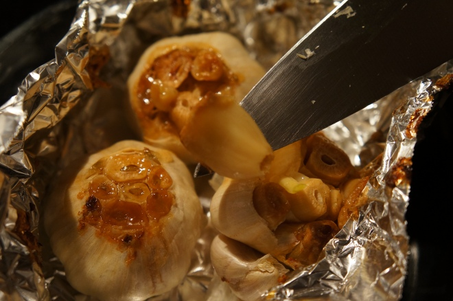 Roasted Garlic, fresh out of the oven!