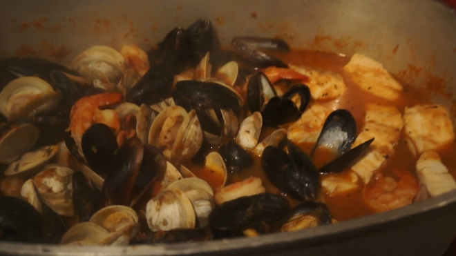 Knock your socks off Amazing Italian Seafood Stew!